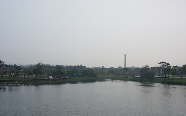 a40奇美博物館周圍景觀.JPG