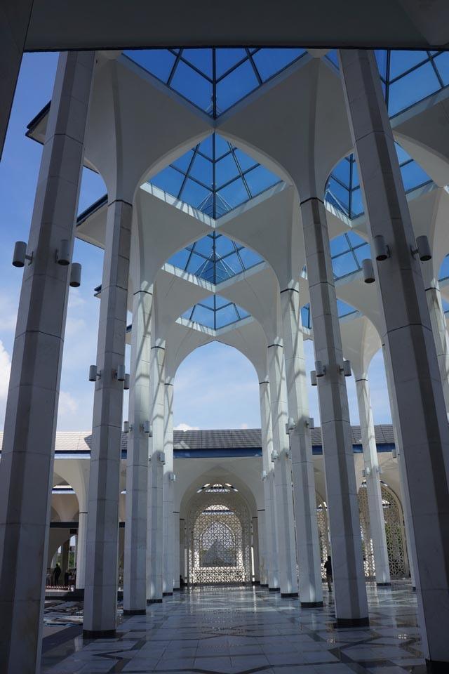 a35藍色清真寺走廊.JPG