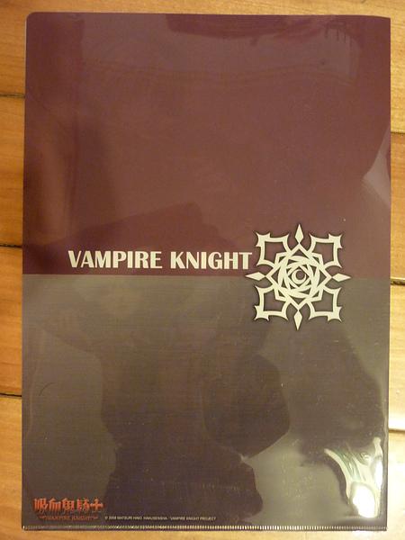 吸血鬼騎士 資料夾(背面)