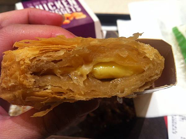 mcdonald - maple custard pie 4