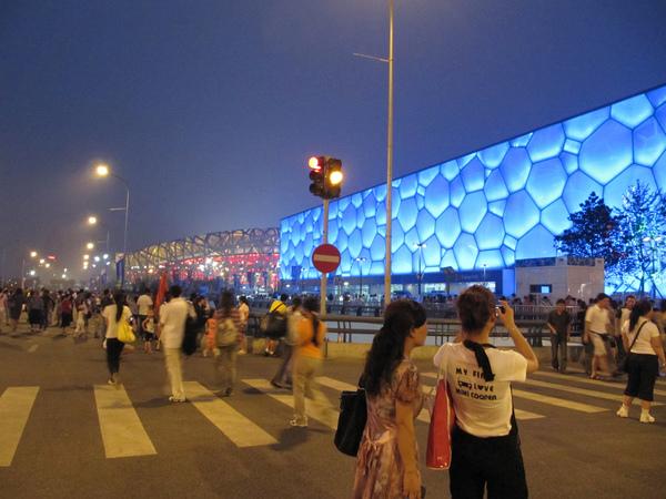 北京 - 水立方