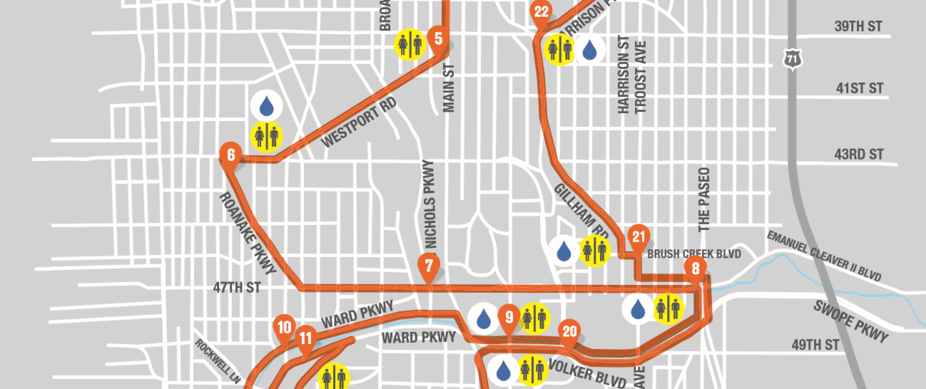 KC Marathon Map