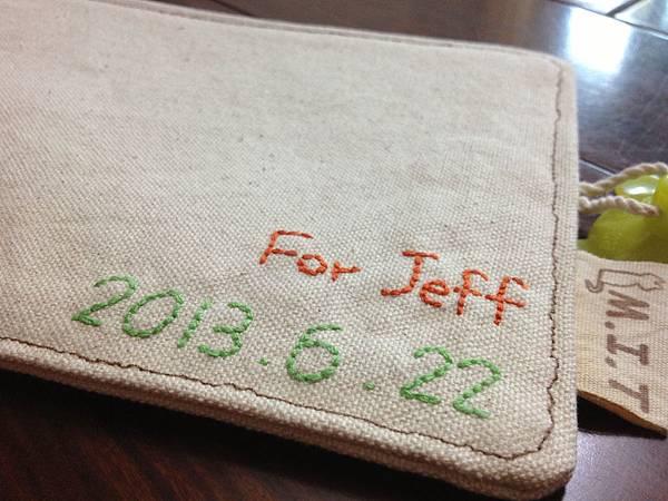 Jeff 2013生日禮物