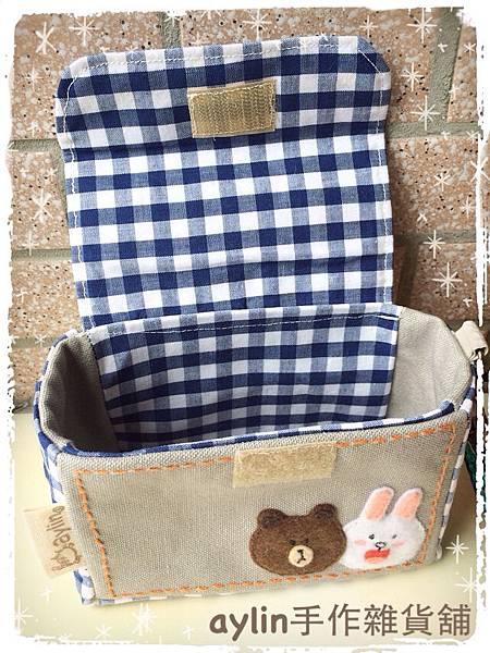 (訂單編號:B10015) 熊大&兔兔 相機包