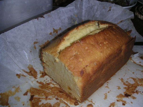 柚子茶磅蛋糕