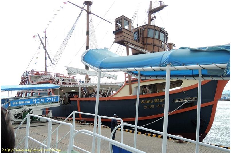 聖馬利亞號帆船型遊船001.JPG