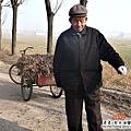 大陸-青島-拾柴的老人