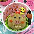 2012-0801-Yuki 4Y7M-豬小妹可愛造型便當 (4)