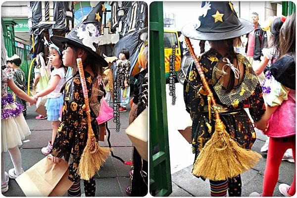 2012-1030-Yuki 4Y10M幼稚園第一次萬聖節 (1)