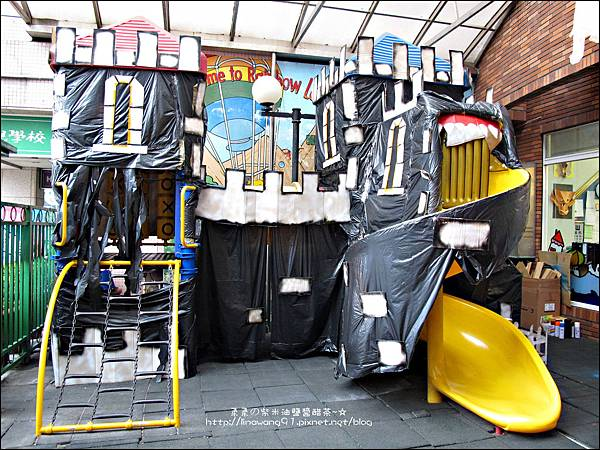 2012-1030-Yuki 4Y10M幼稚園第一次萬聖節 (2)