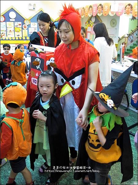 2012-1030-Yuki 4Y10M幼稚園第一次萬聖節 (7)
