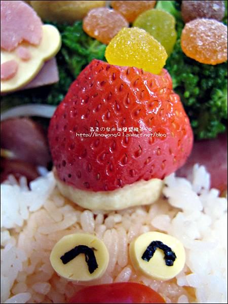 2012-1218-可愛造型便當-聖誕老公公 (12)