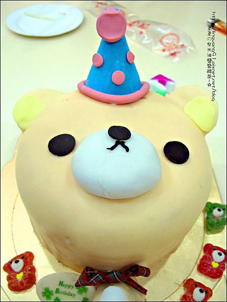 2012-1225-Yuki 5Y生日- 拉拉熊的妹妹-牛奶妹蛋糕 (3)