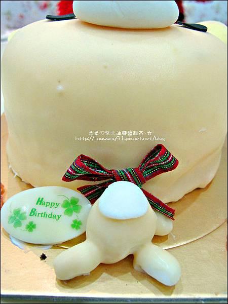 2012-1225-Yuki 5Y生日- 拉拉熊的妹妹-牛奶妹蛋糕