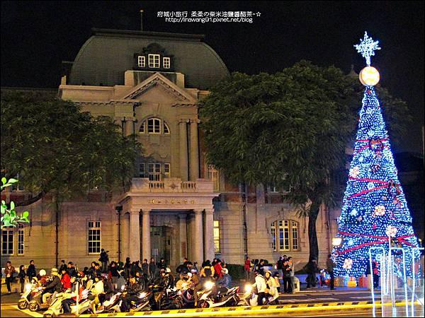 2012-1208-台南文學館聖誕樹 (4)