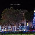 2012-1208-台南文學館聖誕樹 (5)