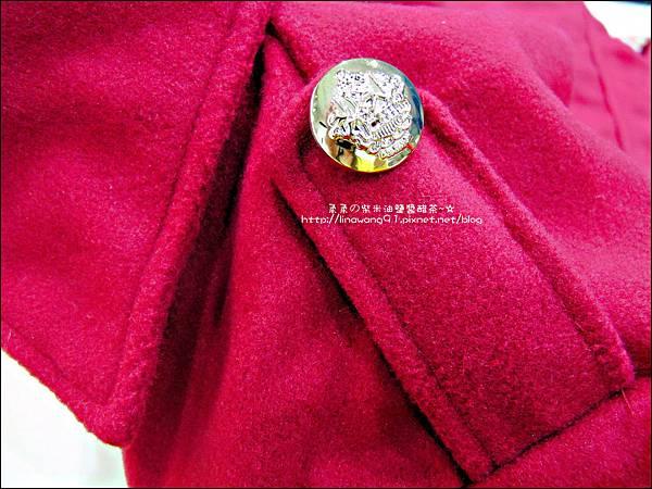 2013-1025-OB嚴選-皇家質感雙排釦毛呢腰綁帶長版外套 (1).jpg