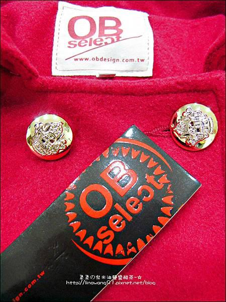 2013-1025-OB嚴選-皇家質感雙排釦毛呢腰綁帶長版外套 (2).jpg