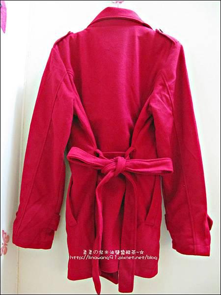 2013-1025-OB嚴選-皇家質感雙排釦毛呢腰綁帶長版外套 (4).jpg