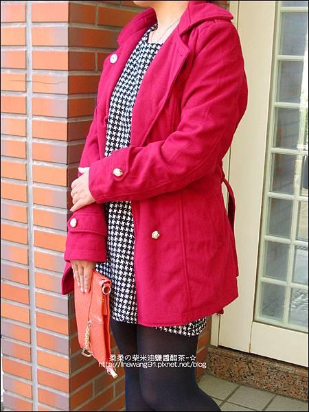 2013-1026-OB嚴選-皇家質感雙排釦毛呢腰綁帶長版外套 (2).jpg