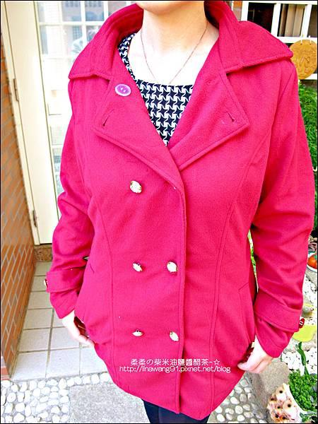 2013-1026-OB嚴選-皇家質感雙排釦毛呢腰綁帶長版外套 (5).jpg