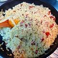 2015-1203-美國米-糙米-越光米-洋地瓜香腸炊飯 (14).jpg