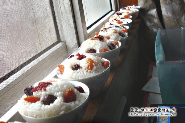 大陸-青島-四哥家-窗邊的八寶飯.jpg