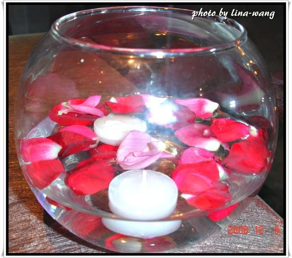 水舞谷關餐廳-水蠟燭.JPG