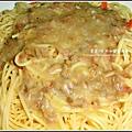 坎佩尼亞義大利麵醬組合試吃-培垠蘑菇義大利麵.jpg