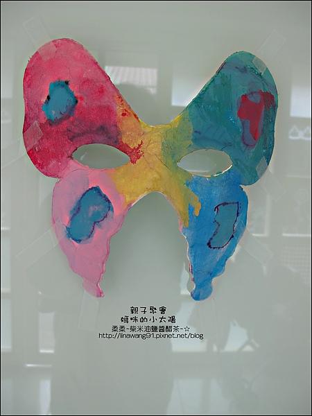媽咪小太陽親子聚會-萬聖節-蝴蝶面具-2010-1025 (1).jpg