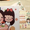 收到miwa的生日卡片!