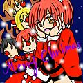 雪子_聖誕節賀圖