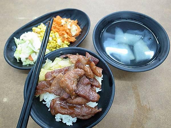 台南美食‧鄭阿義燒肉飯