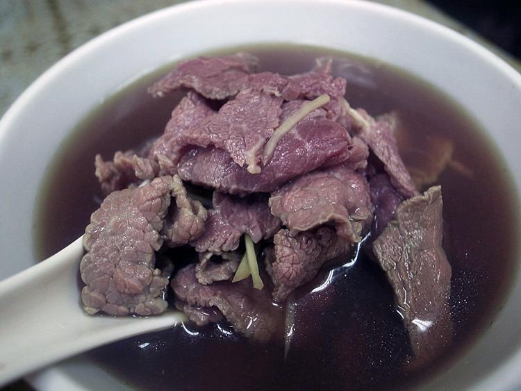 台南美食-小北牛肉湯