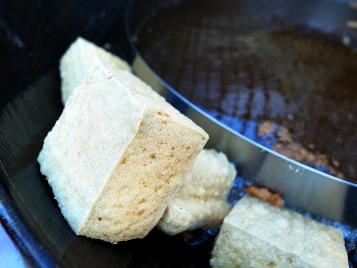 台南美食-開山路無名臭豆腐(福來伯臭豆腐)