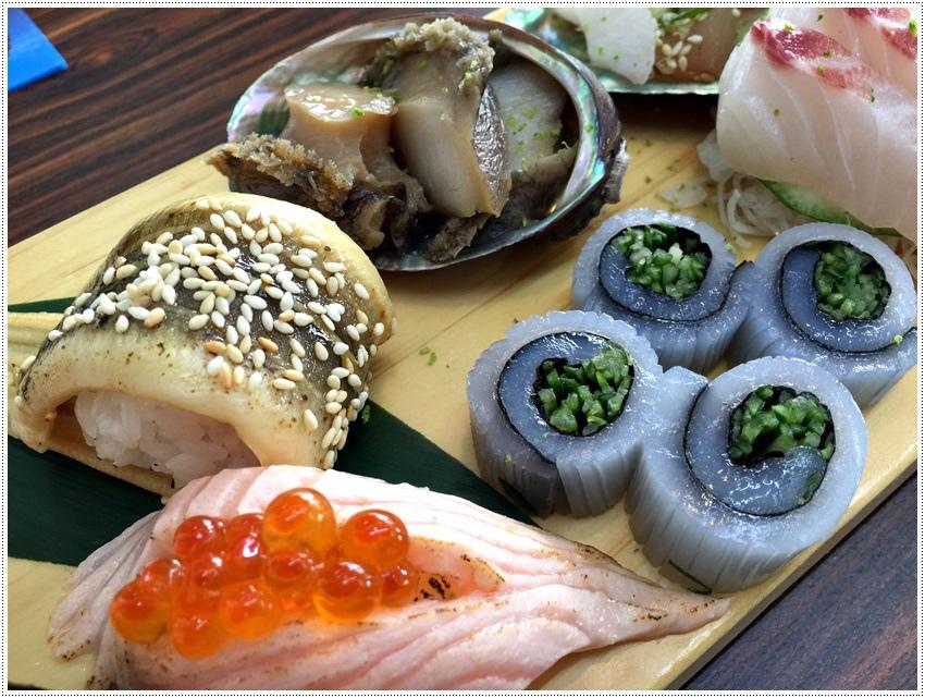台中美食-丸億生魚片壽司