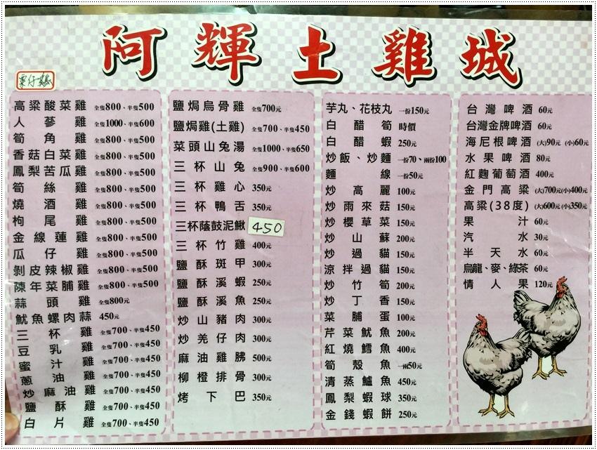 台南美食-關廟~阿輝土雞城