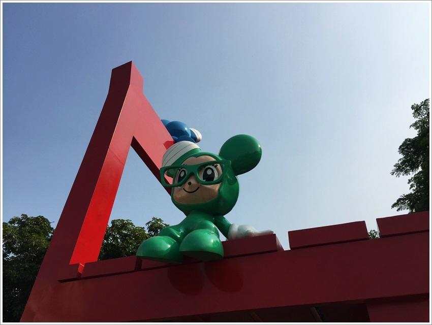 台南親子-不二良小鼠新營美術園區~繽紛可愛小鼠出沒