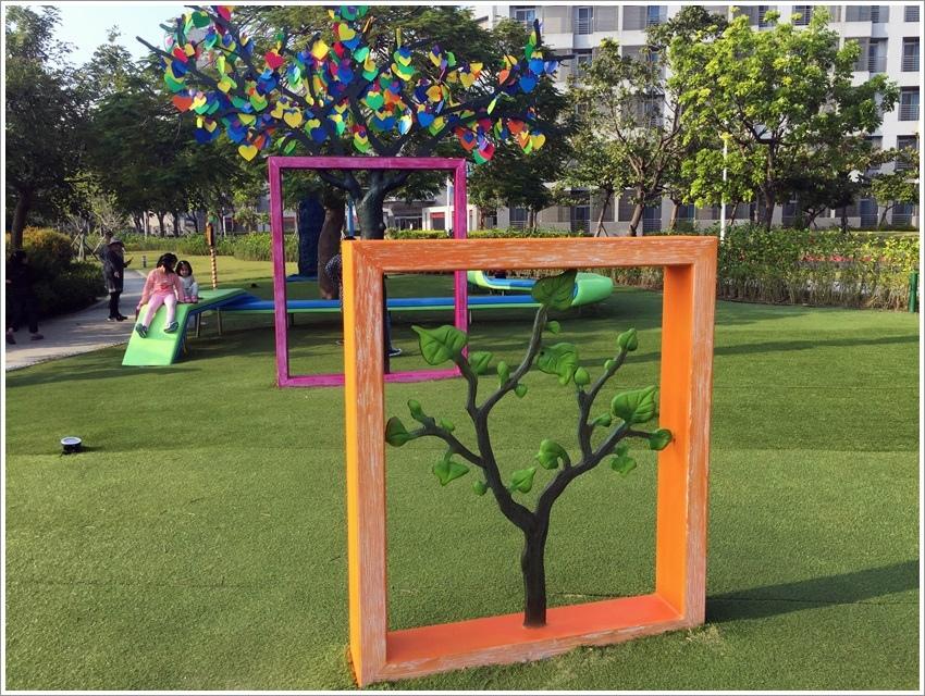 台南旅遊-台積電-幾米主題公園 南科湖濱雅舍