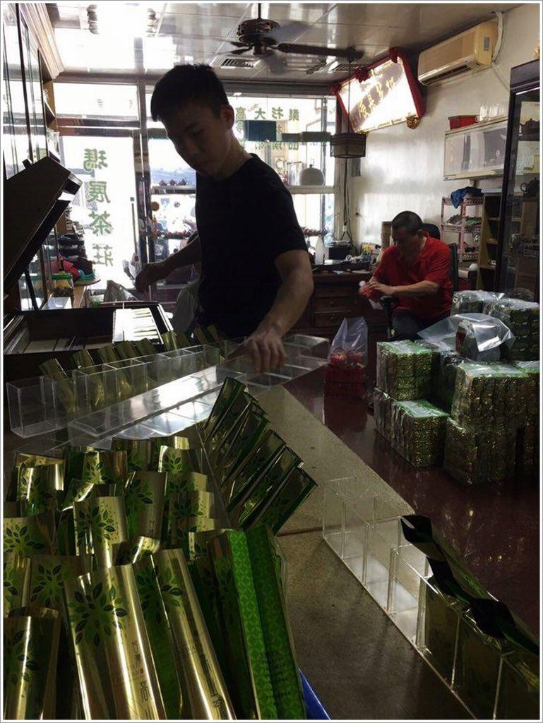 台南美食-瑪展茶莊遵循古老烘培台灣茶~失傳的烘培~-台灣茶的香氣來源