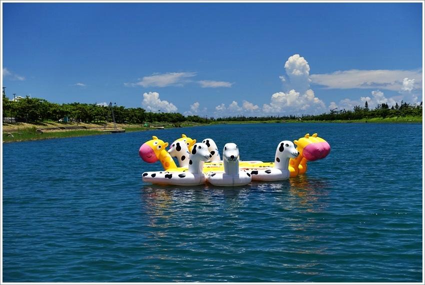 台東親子旅遊-來去活水湖游泳啊~三鐵的聖地
