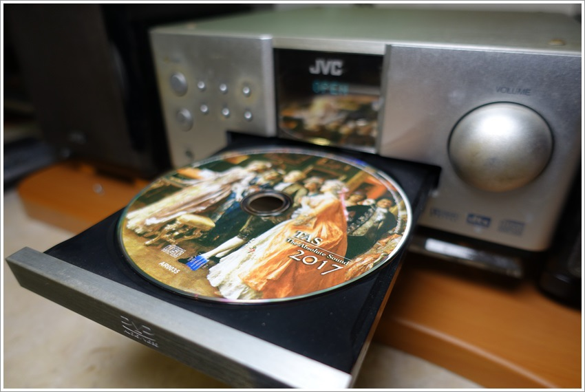 TAS系列為極光音樂每年度精選德國發燒大廠Stockfisch「老虎魚」