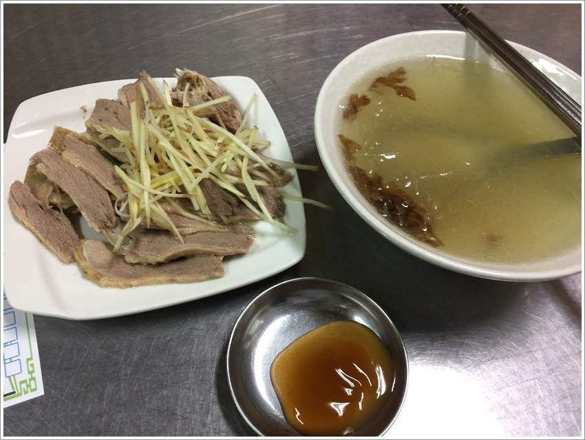 台南美食-竹記鴨肉好吃鴨肉冬粉,充滿濃濃的鴨肉油脂香氣傳統美食大推煙燻鴨肉