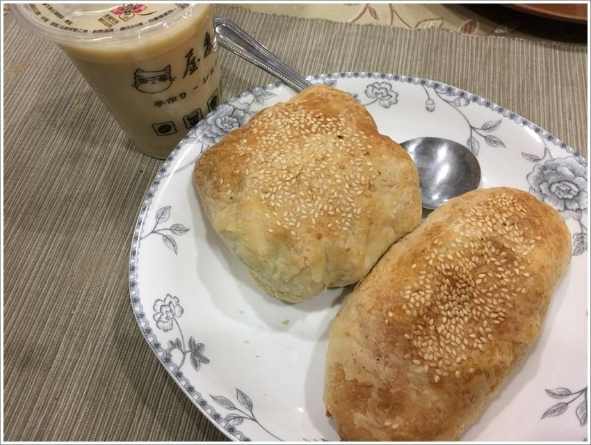 台南美食-張家燒餅外省眷村口味甜燒餅是我的最愛