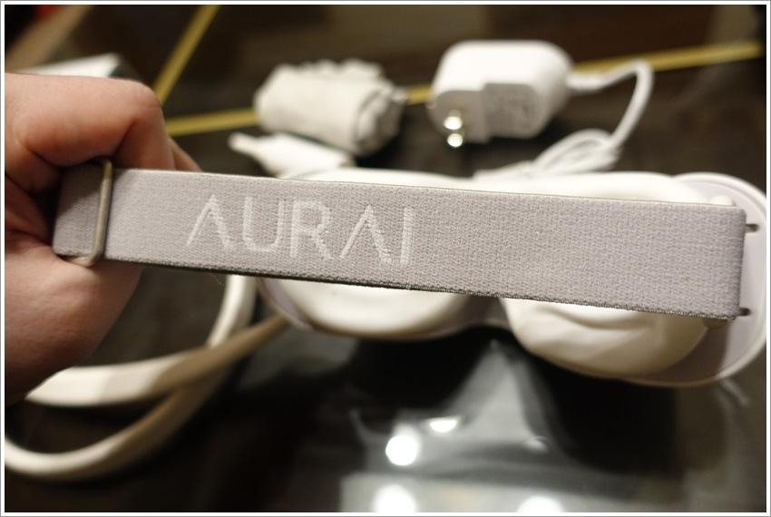 體驗-AURAI水波式按摩眼罩冷敷熱敷眼部舒壓只要6分鐘整個眼部肌肉放輕鬆
