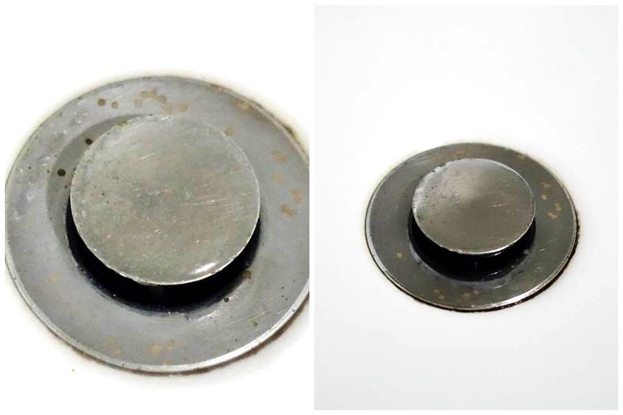 開箱-日本熱門家庭AIMEDIA艾美廸雅廁所去污橡皮擦馬桶用久了污垢圈圈馬上byebye