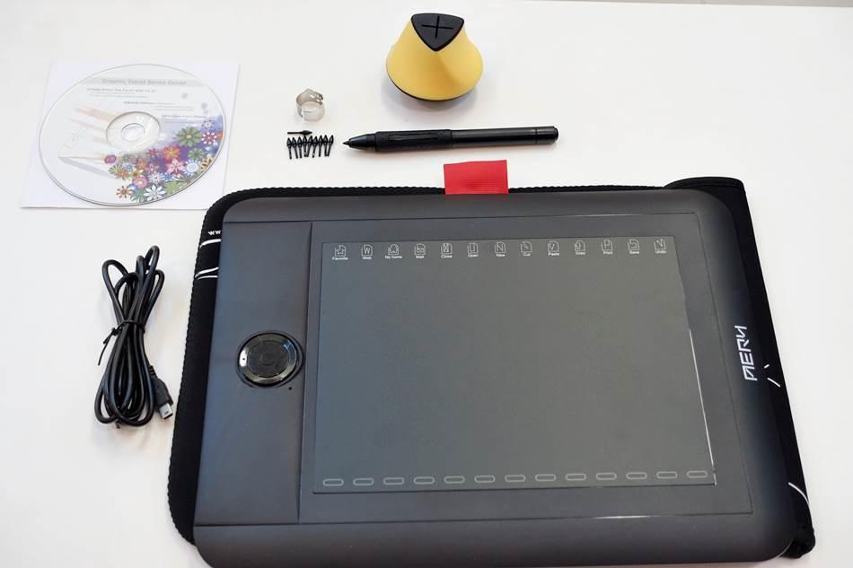 開箱3C-AERY專業無電池繪圖板精緻度超越WACOM繪圖板解析度超高專業繪圖板首選