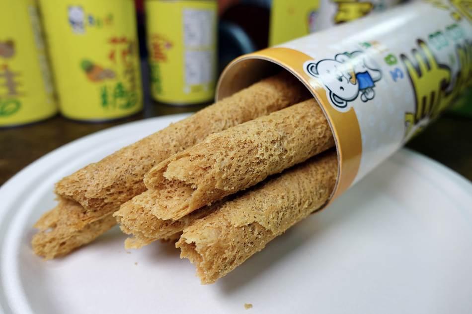團購美食-三峽伴手禮名產38熊手工蛋捲販售花生糖飲品蛋捲霜淇淋蜜餞可宅配,滿千免運