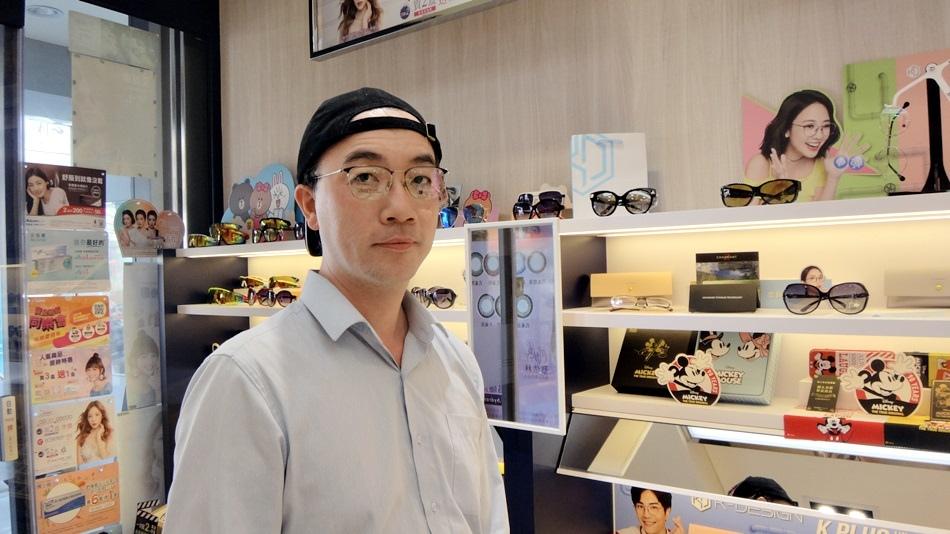 寶島眼鏡韓系K-DESIGN韓潮盛典搭配漸進多焦鏡片不暈眩讓眼睛更舒服看遠看近一副搞定