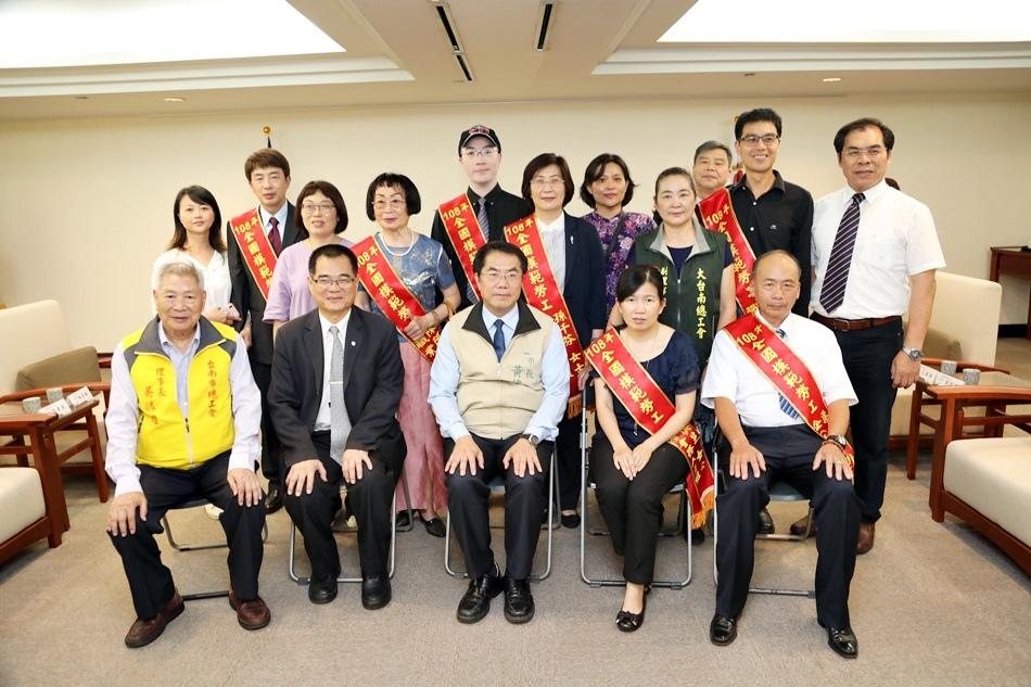 台南模範勞工-恭喜雞蛋貓當選108年度全國模範勞工